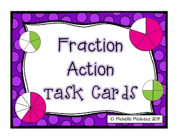 Fraction Action Task Cards