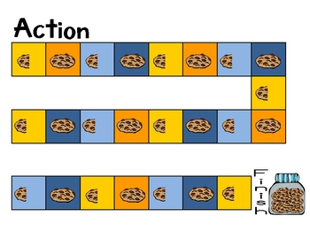 Fraction Action with Cookie Monster