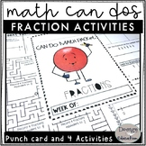Math Early Finishers Fraction Can Dos