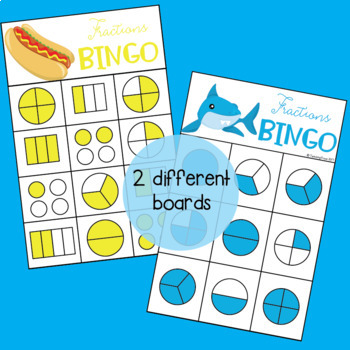Fraction Activities and Games for Second Grade