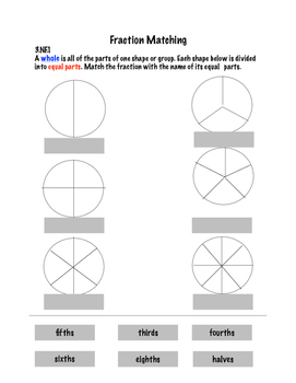 Fun Fraction Activities and 3.NF Standard Reviews