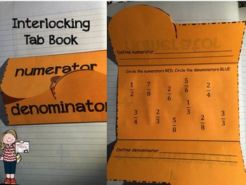 Fraction Activities for Interactive Notebooks