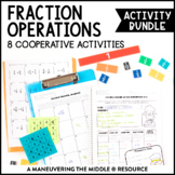 6th Grade Fraction Operations