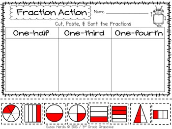 Fraction Activity Sheets