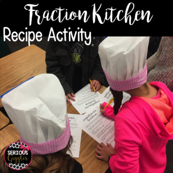 Fraction Activity with a Recipe