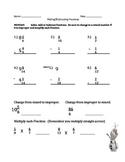 Fraction- Adding and Subtracting Unlike denominators