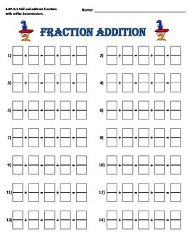 Fraction Addition