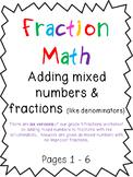 Grade 4: Fraction Bundle Set