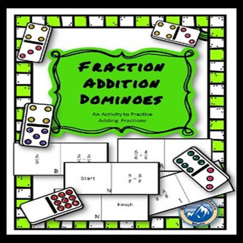 Fraction Addition Dominoes