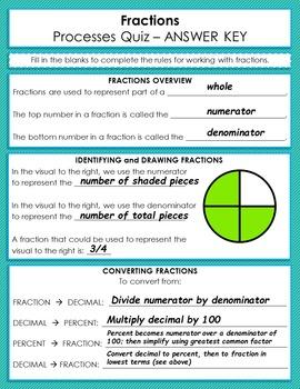 Fraction Addition Quiz