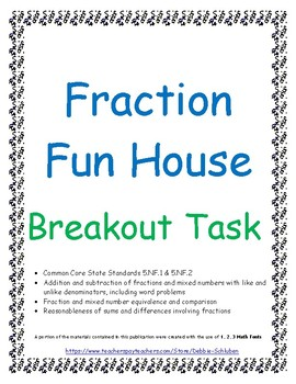 Fraction Addition and Subtraction Breakout Game