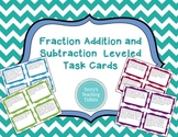 Fraction Addition and Subtraction Word Problem Task Cards - 5.NF.2