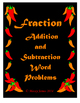 Fraction Addition and Subtraction Word Problems