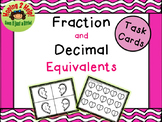 Fraction and Decimal Equivalent Match - Valentine's Day
