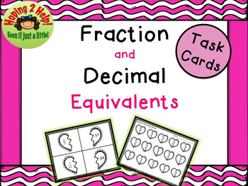 Fraction and Decimal Equivalent Match