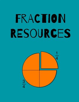 Fraction Anchor Chart/Resources