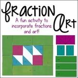 Fraction Art | An Adding Fractions Activity