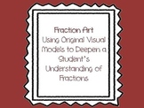 Fraction Arts Integrated Visual Learning Activity- Common Core Aligned