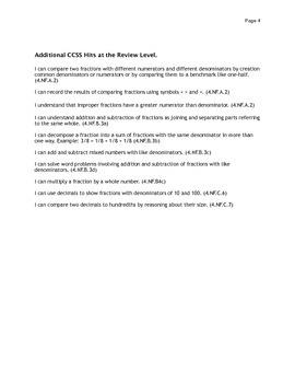 Fraction Assesment B Grade 5.NF.A.1- B.4