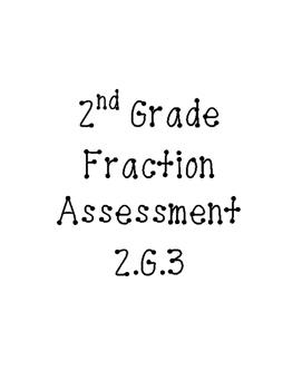 Fraction Assessment 2.G.3