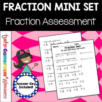 Fraction Mini Set - Fraction Test