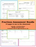 Fraction Assessment Bundle!