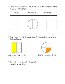 Fraction Assessment CC.1.G.3