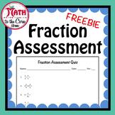 Fraction Assessment Quiz - Free