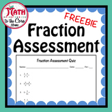 Fraction Assessment Quiz - Free