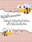 Distance Learning Fraction Attraction: Plus & Minus Fracti