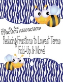 Fraction Attraction Pack: Reducing Fractions to Lowest Terms