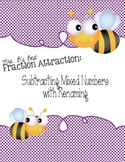 Fraction Attraction Pack: Subtracting Mixed Numbers with Renaming