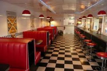 Fraction Avenue Diner Smartboard