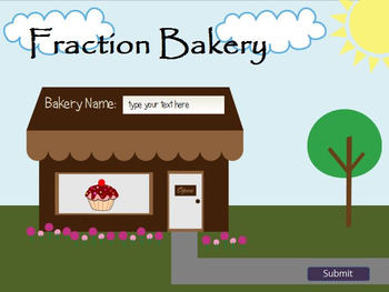 Fraction Bakery: Fraction Practice Game