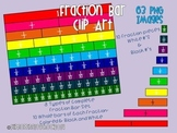 Fraction Bar Clipart Set for Personal and Commercial Use