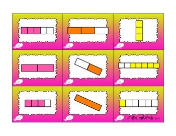 Fraction Bars, Circles, and Sets