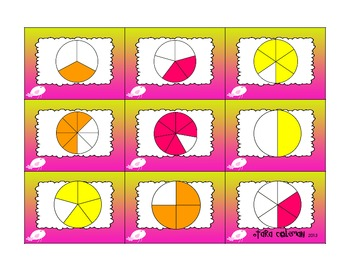 Fraction Bars, Circles, and Sets