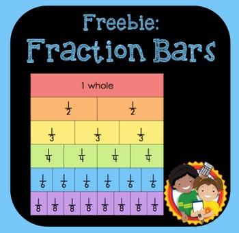 Fraction Bars Freebie