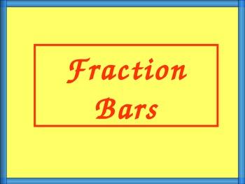Fraction Bars, Math PowerPoint