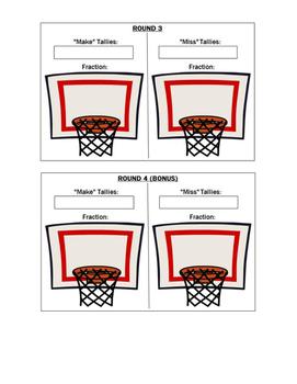 Fraction Basketball Scorecard