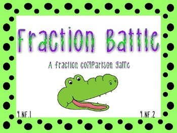 Fraction Battle: A comparing fractions game