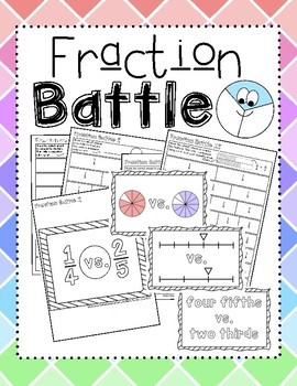 Fraction Battle ~ Introduction to Comparing Fractions