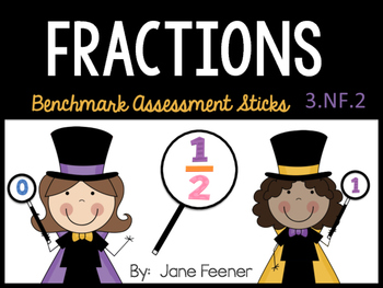 Fraction Benchmark Assessment Sticks