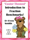 Easter Introduction to Fractions Math Center Game