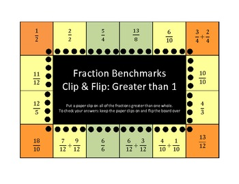 Fraction Benchmarks Clip and Flip (self checking)