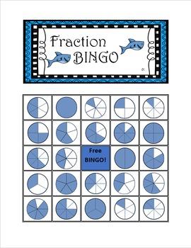 Fraction Bingo! - Math Bingo (36x Sheets)