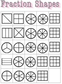 Fraction Bingo