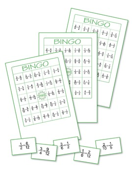 Fractions Bingo 2