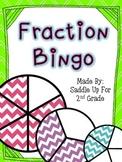 Fraction Bingo: 2 Sets of Bingo Cards