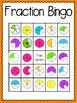 Fraction Bingo (30 completely different cards & calling cards included!)